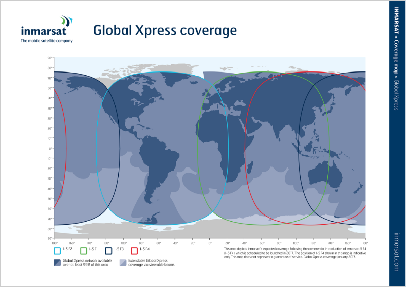 Global Xpress coverage